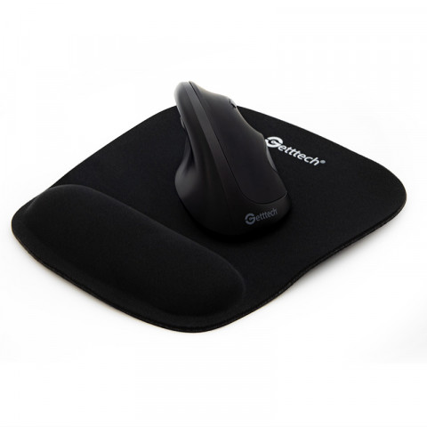 MOUSEPAD GETTTECH SWIFT GTS-2800, WIHT FOAM HANDREST, BLACK (GTS-28001N)