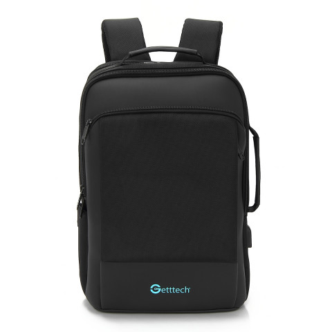 Getttech Laptop Backpack GMB-22004 Bold, Black