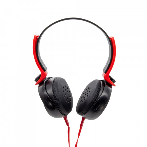 Headset Getttech GH-2540 Rrythm, 3.5mm, with microphone, black & red
