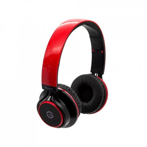 Headset Getttech GH-3100R Sonority, 3.5mm, with microphone, red