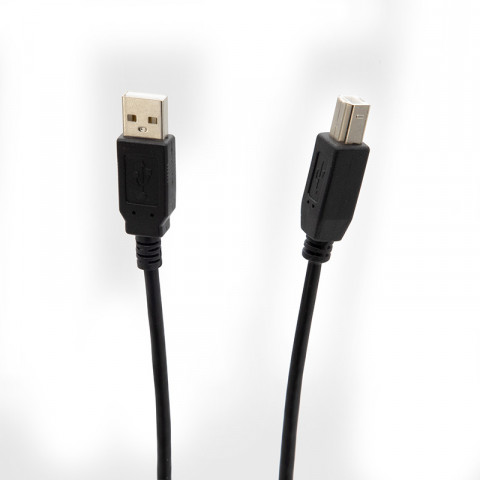 Cable USB 2.0 Getttech Jl-3515  cable usb  to usb type B, 4.9 feet length black